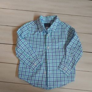 Boys Collared Button Down